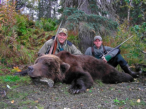 Alaska Fall Bear Hunting